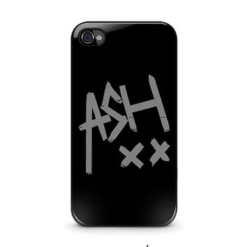 5 seconds of summer ash 5sos iphone 4 4s case cover  number 1