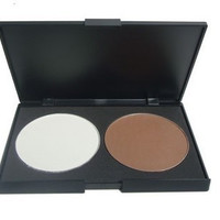 New Beauty Care Professional Essential Makeup 2 Color Contour Shading Pressed Veil Face Powder BareMinerals Highlight Make-up Foundation Cosmetic