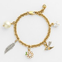 Juicy Couture 'Juicy in Bloom' Charm Bracelet