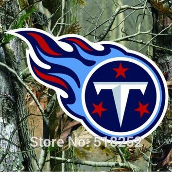 Tennessee Titans real tree camo Flag 150X90CM NFL 3x5 FT Banner 100D Polyester Custom flag grommets 6038,free shipping