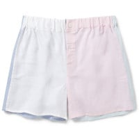 Emma Willis - Patchwork Linen Boxer Shorts | MR PORTER