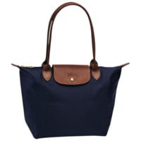 Shopping bag S - Le Pliage - Bags - Longchamp - Navy - Longchamp United-States