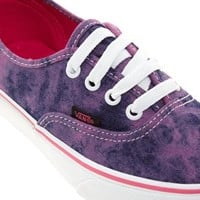 Vans Authentic Pink Denim Trainers at asos.com