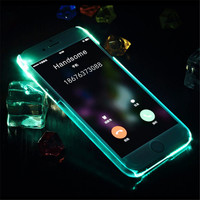 Mint Light Up Case For iPhone  6 6s Plus Gift