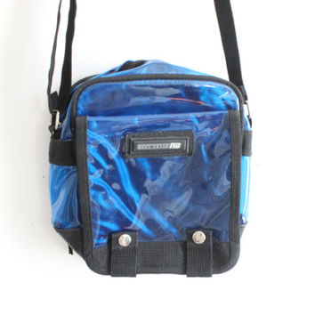 Cyber Blue 90s Mini Bag