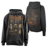 Slipknot Men's Sulfer Hooded Sweatshirt Black