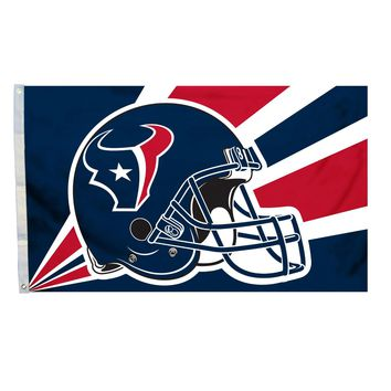 Houston Texans 3' x 5' Helmet Flag