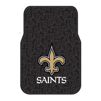 New Orleans Saints NFL Car Front Floor Mats (2 Front) (17x25)