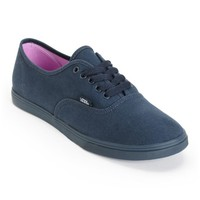 Vans Authentic Lo Pro Monotone Total Eclipse Shoes
