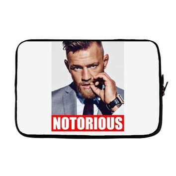 conor mcgregor notorious Laptop sleeve