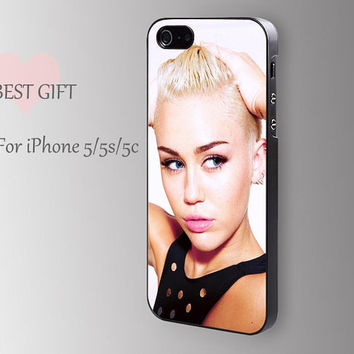 Miley cyrus------- Christmas gift iphone rubber case phone case iphone 5 cover iphone 5c case iphone cover for iphone4/4s/5/5s/5c