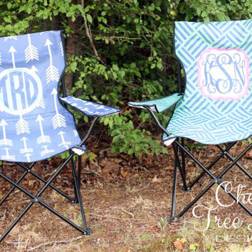 Personalized Foldable Lawn Chair - Sport Chair - Tail Gating - Stadium Chair - Design Your Own
