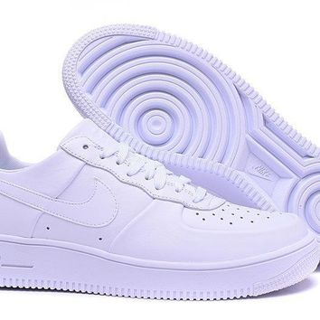 Nike Air Force 1 ULTRA AF1 White For Women Men Running Sport Casual Shoes Sneakers