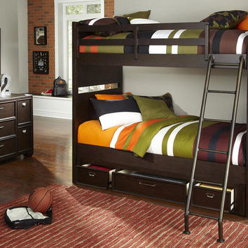 Boulevard Twin over Twin Bunk Beds