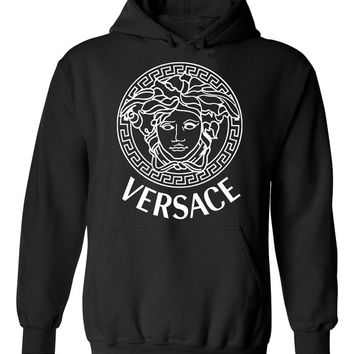 Mens Versace Style Hooded Sweatshirt Sizes Available M L XL 2XL Hoodie Cool Stylish