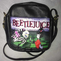 SaLe Beetlejuice bag Free World Wide by Totalchaosbootique on Etsy