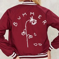 Bummer Rose Embroidered Jacket