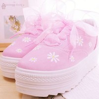 DAISY SHOES (PINK ) from Storeunic