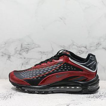 Nike Air Max Deluxe 99 Black Red Running Shoes - Best Deal Online