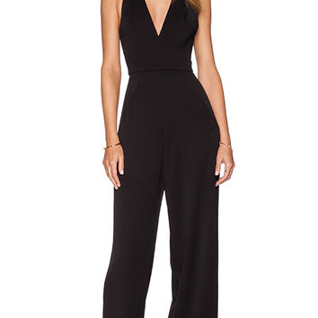 Black Halo Jordan Jumpsuit in Black