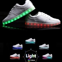 Light up Shoes - White - Light Up Shoes - Women's