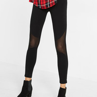 Pieced Mesh Legging