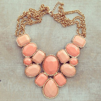 Pree Brulee - Candied Peach Necklace