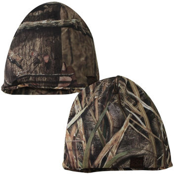 Oklahoma State Cowboys Top of the World Double Moss Reversible Knit Hat – Mossy Oak Camo
