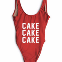 Cake High Cut One Piece