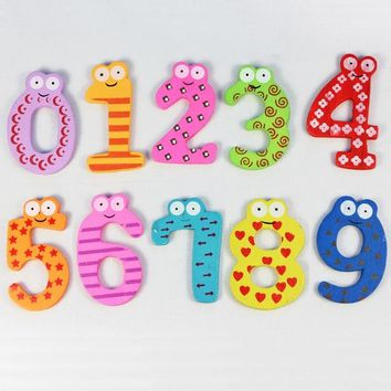 HIINST Customized Magnetic Wooden Numbers Math Set Toys  for Kids 2018  Child Preschool Home School Daycare DropShipping
