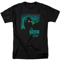 IRON GIANT/LOOK TO THE STARS-S/S ADULT 18/1-BLACK