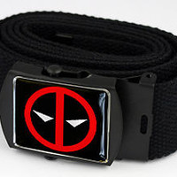 Deadpool Logo- Belt