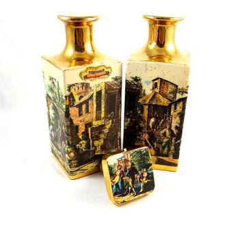 Vintage Italian Wine Decanters from Italy