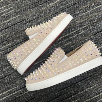 Christian Louboutin Cl Roller Boat Sneakers Reference 10 - Best Online Sale