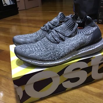 ADIDAS ULTRA BOOST UNCAGED SILVER SUPERBOWL SIZE US11 NMD YEEZY CORE BLACK WHITE