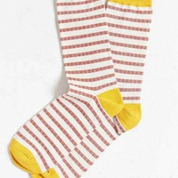 Birdseye Stripe Sock