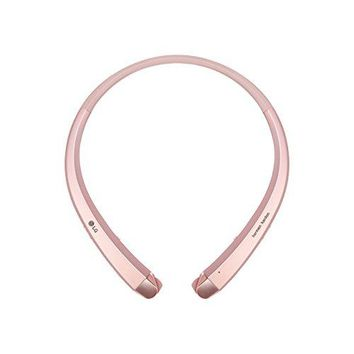 LG HBS-910 Tone Infinim Bluetooth Stereo Headset - Retail Packaging - Rose Gold