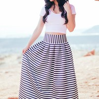 Belle of the Night Maxi Skirt