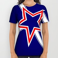 Southern Cross flag All Over Print Shirt by Bruce Stanfield | Society6