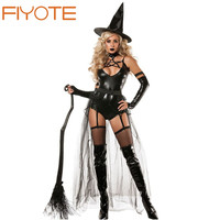 Hot Adult 4pcs Miss Witchcraft Costume LC8940 Cosplay Deluxe Adult Magic Moment Costume Adult Witch Halloween Fancy Dress