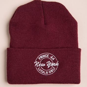 TRUDY NY LOCALS ONLY BEANIE