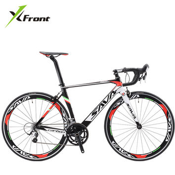 Professional X-Front Full Carbon Fiber road bike 18 20 22 Speed Racing Bicycle FREE SHIPPING!