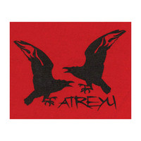 Atreyu Men's Cloth Patch Red