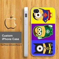 Despicable Minion Serial Super Hero - Customized iPhone 4/4S & iphone 5