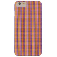 Plaid Barely There iPhone 6 Plus Case