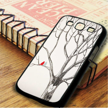 Two Bird In Love Samsung Galaxy S3 Case