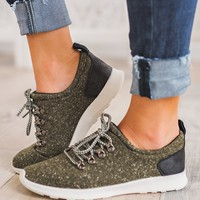 Aspen Heathered Sneakers (Olive)