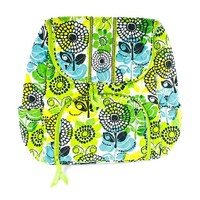 Vera Bradley Double Zip Backpack (Lime's Up)