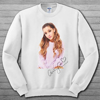 ariana grande signature Sweatshirt,ariana grande signature Hoodie,ariana grande signature Sweater # For Women , Men  Sweatshirt