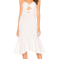Karina Grimaldi Nelia Dress in White
